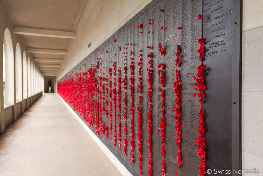 Sehenswuerdigkeiten in Canberra Kriegsdenkmal