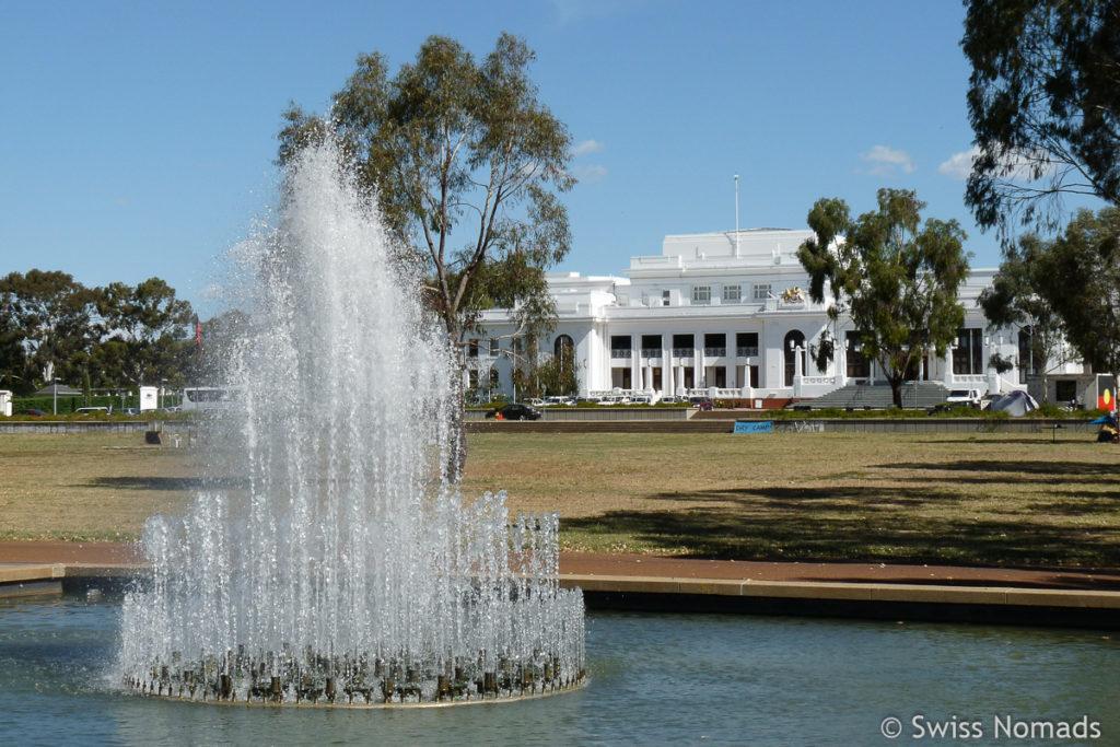 Sehenswuerdigkeiten in Canberra Old Parliament