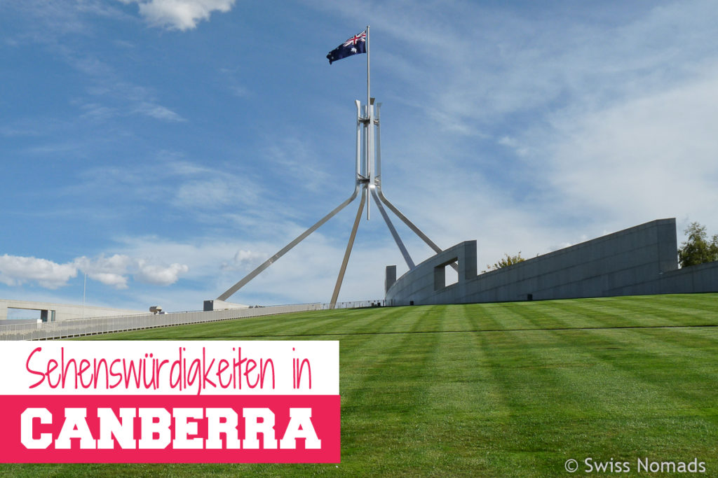 Sehenswuerdigkeiten in Canberra Top 10