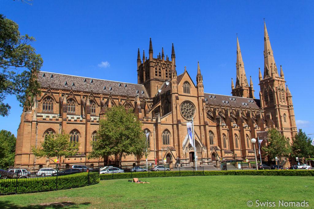 St Marys Cathedral Sydney Sehenswuerdigkeiten
