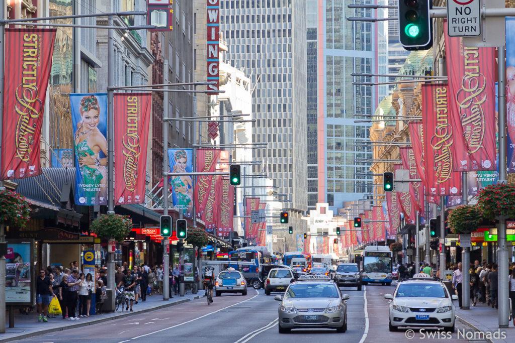 Sydney Sehenswuerdigkeiten CBD Australien