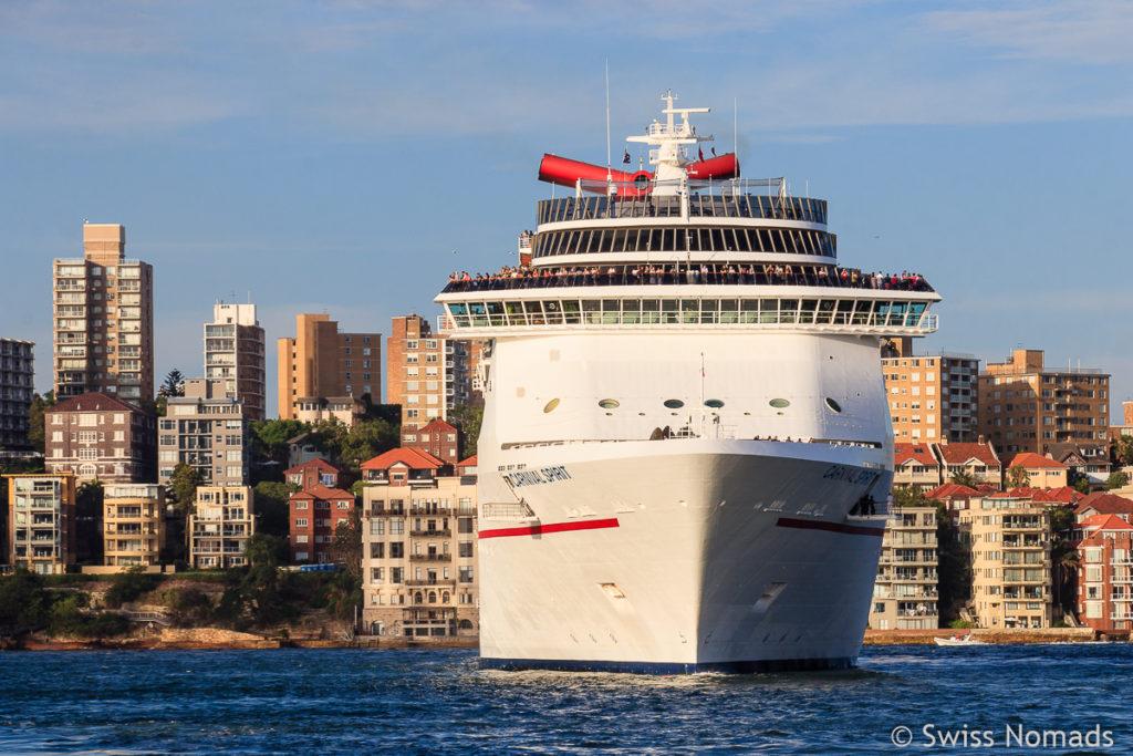 Sydney Sehenswuerdigkeiten Harbour Australien
