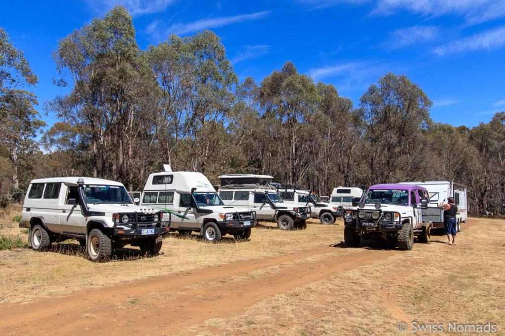 Unser Tasmanien Roadtrip zum Troopcarrier Treffen