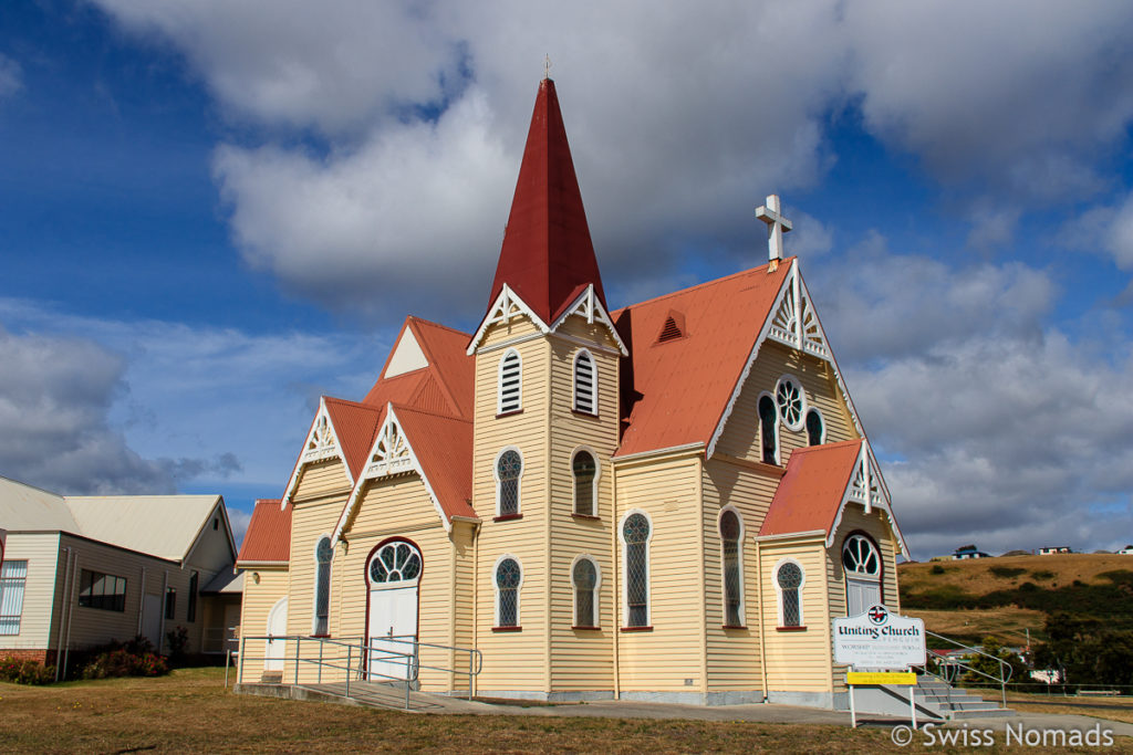 Die Uniting Church in Penguin auf unserem Tasmanien Roadtrip