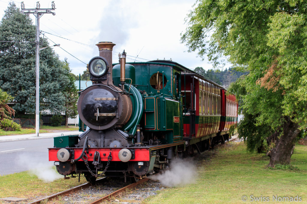 Die West Coast Wilderness Railway in Tasmanien