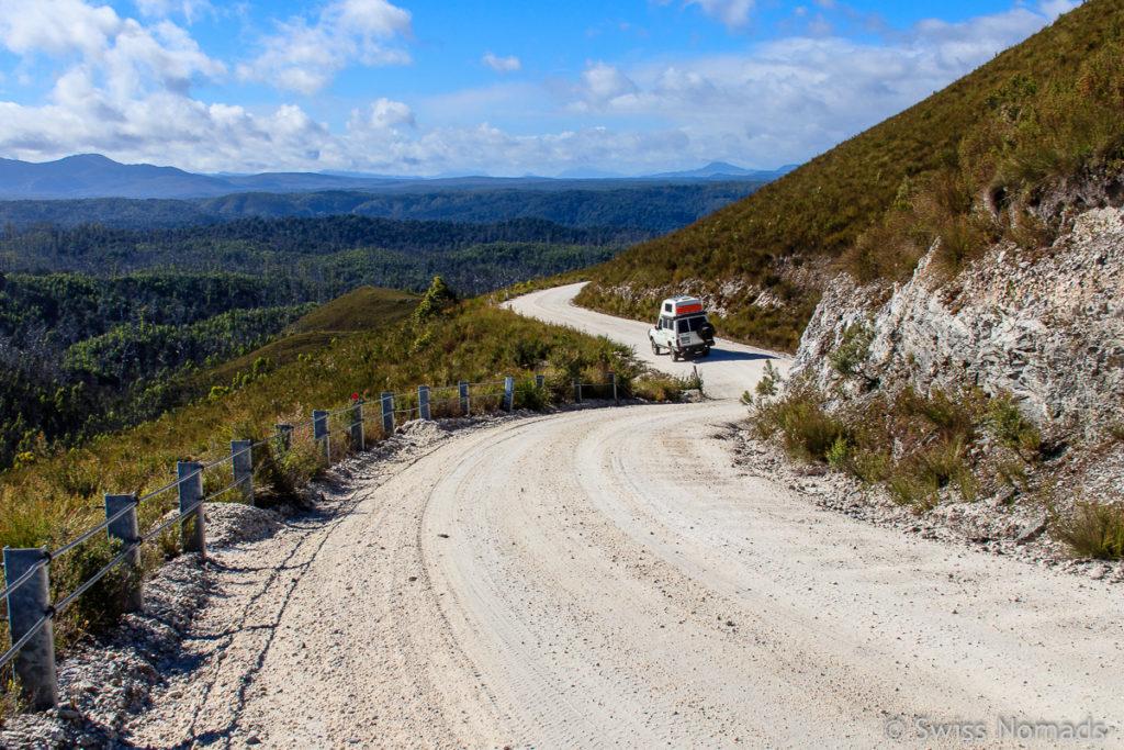 Unser Tasmanien Roadtrip entlang des Western Explorers
