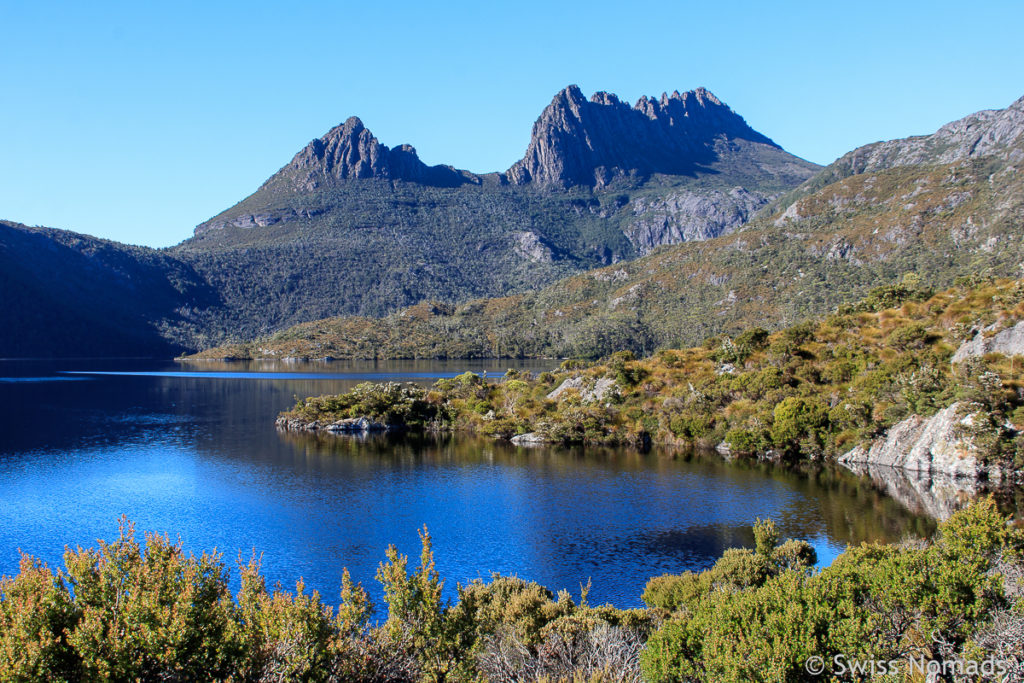 Wundervolle Landschaft im Cradle Mountain Nationalpark