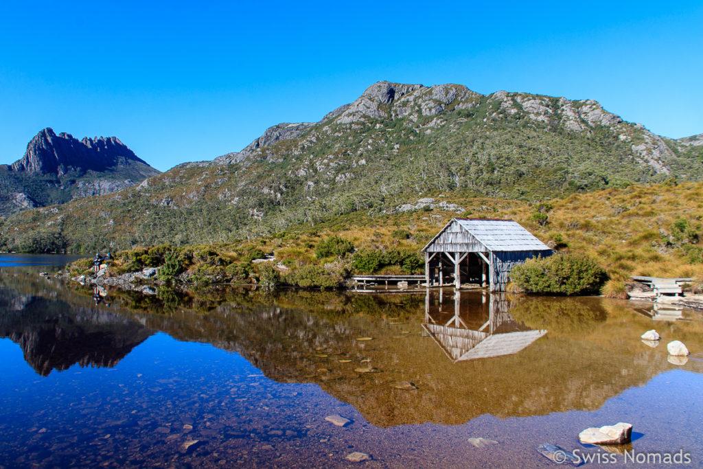 Der Cradle Mountain Nationalpark ist eine der Top 10 Tasmanien Sehenswürdigkeiten