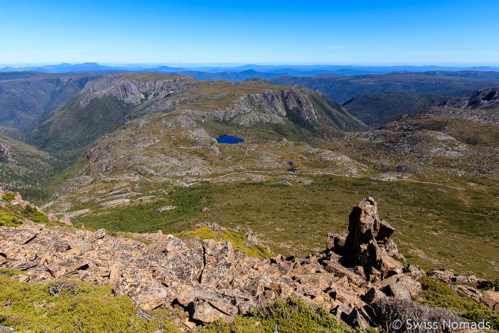 Aussicht vom Summit des Cradle Mountains