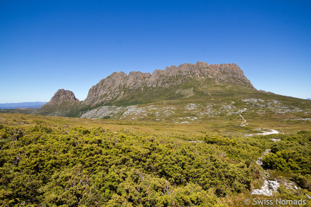 Cradle Mountain, Weindorfers Tower und das Little Horn