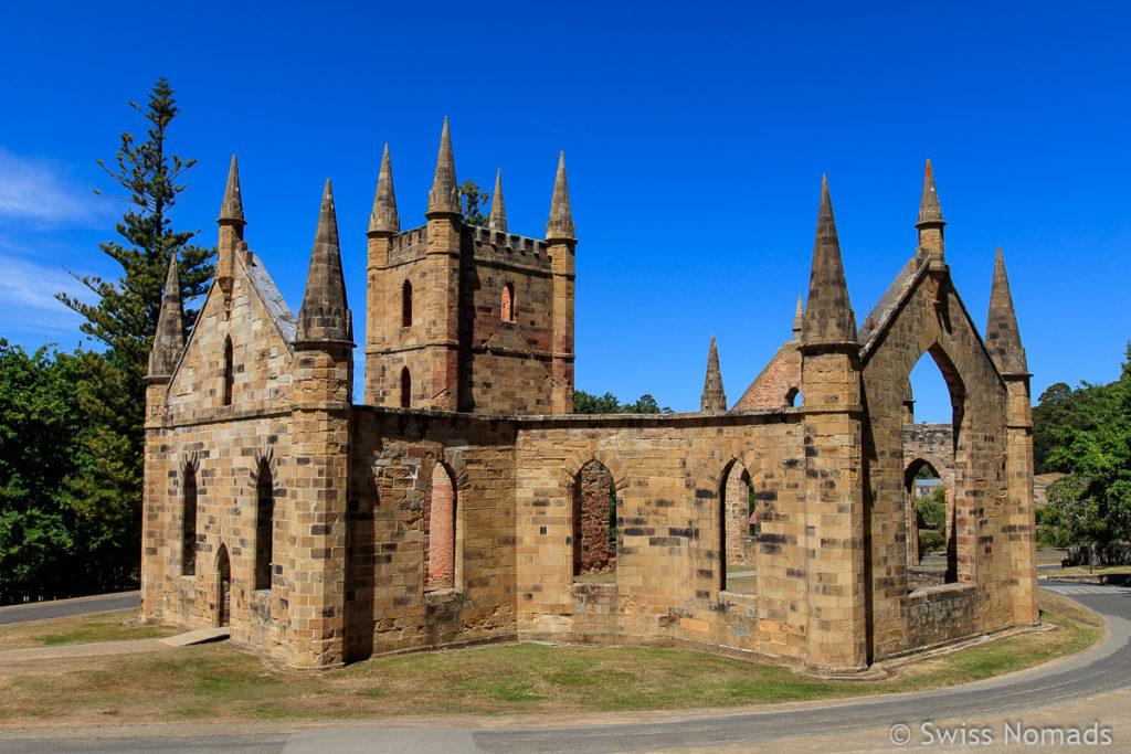 Port Arthur ist eine der Top 10 Tasmanien Sehenswürdigkeiten