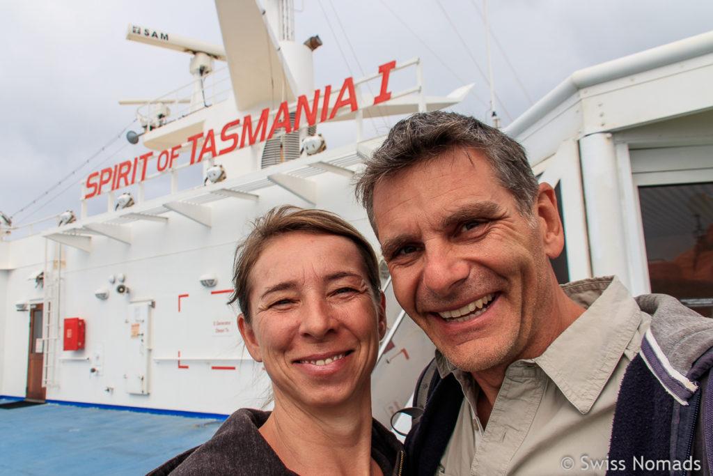 Mit der Fähre von Melbourne nach Tasmanien