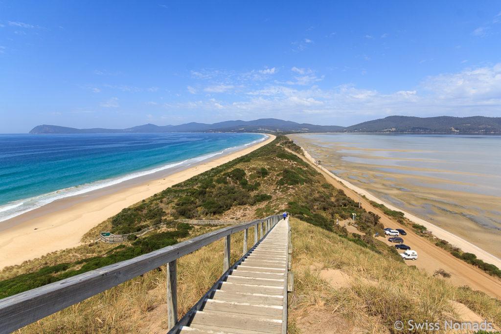 The Neck auf Bruny Island ist eine der Top 10 Tasmanien Sehenswürdigkeiten