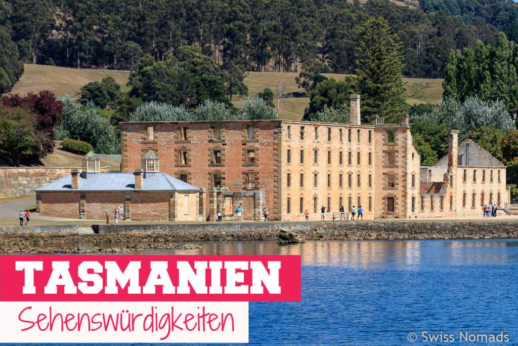 Die Top 10 Tasmanien Sehenswürdigkeiten in Australien Titel