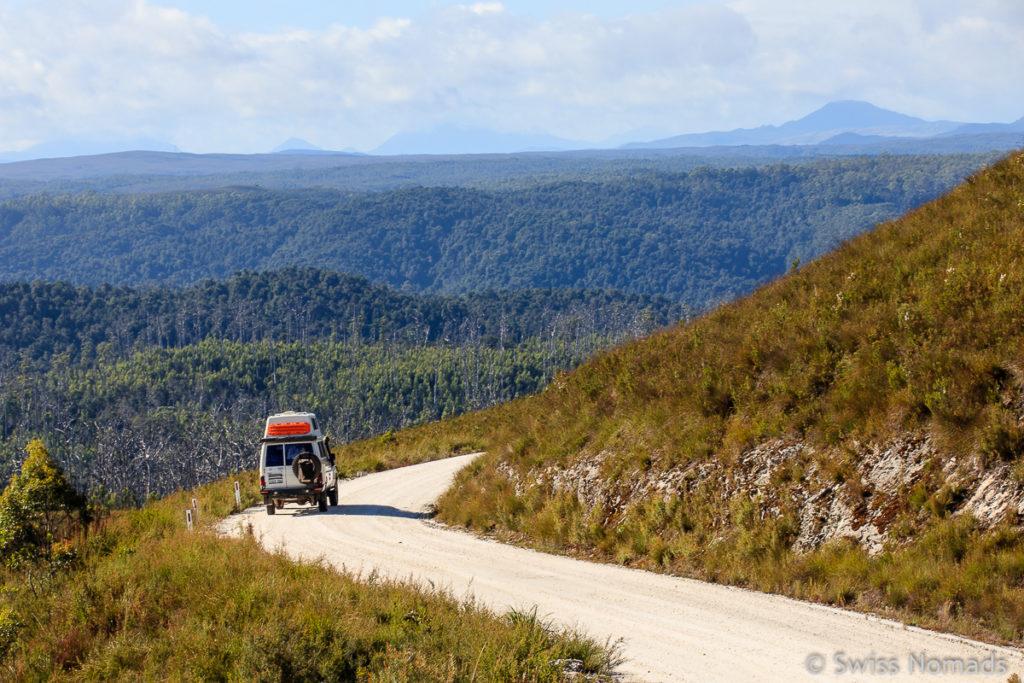 Der Western Explorer ist eine der Top 10 Tasmanien Sehenswürdigkeiten