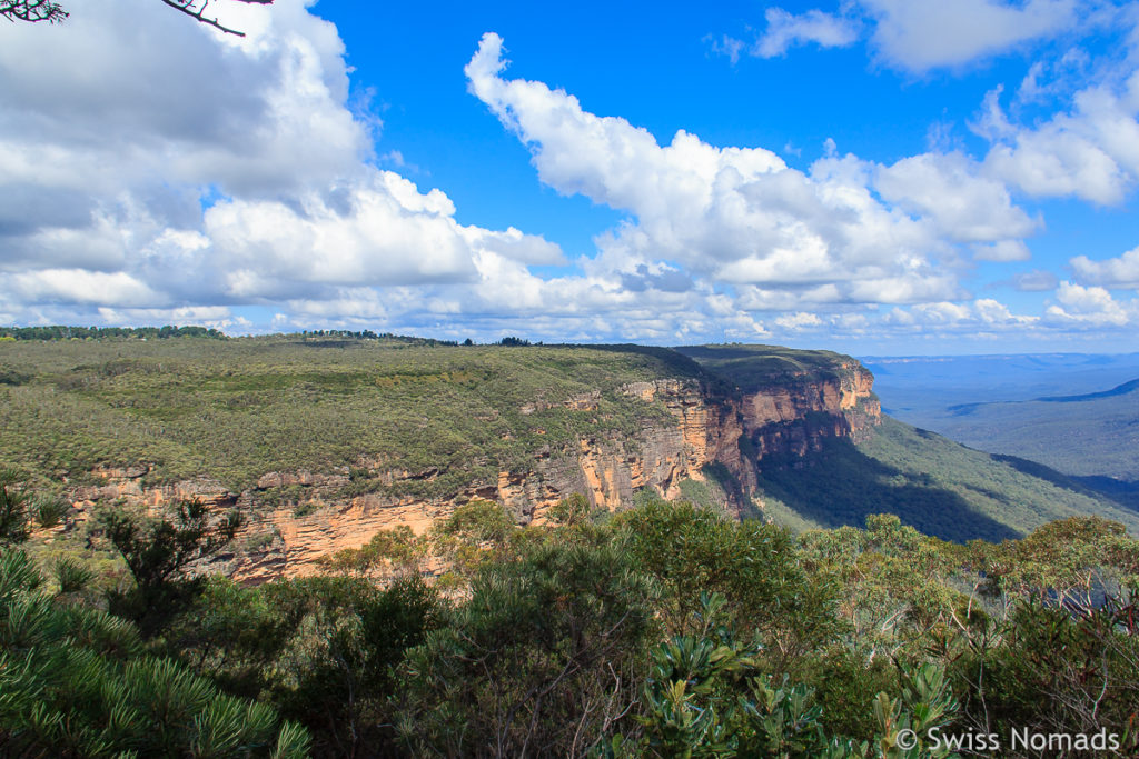 Der Blue Mountains Nationalpark in Australien