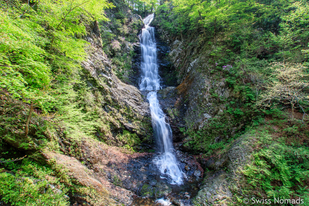 Der Buril Wasserfall im Jirisan Nationalpark in Südkorea