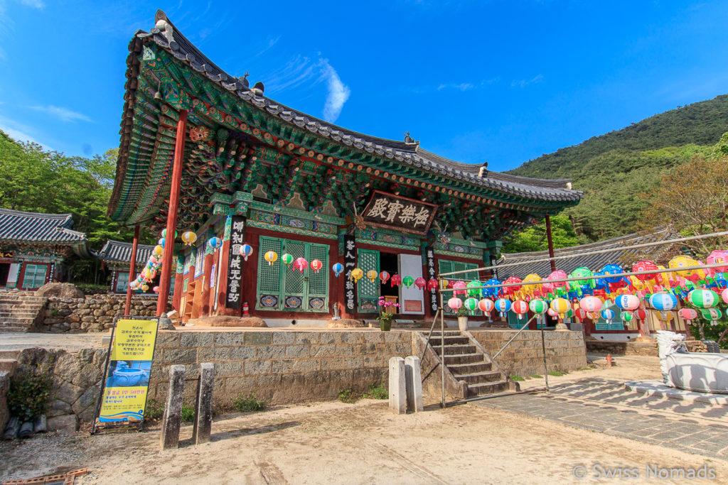 Cheoneunsa Tempel im Jirisan Nationalpark
