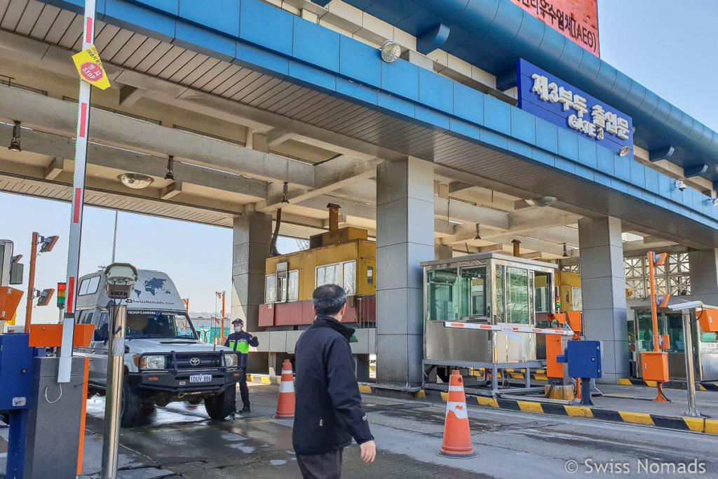 Korea Fahrzeug Import