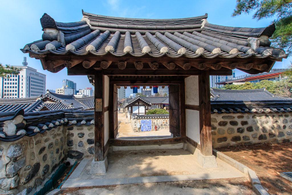 Das Namsangol Hanok Village in Seoul