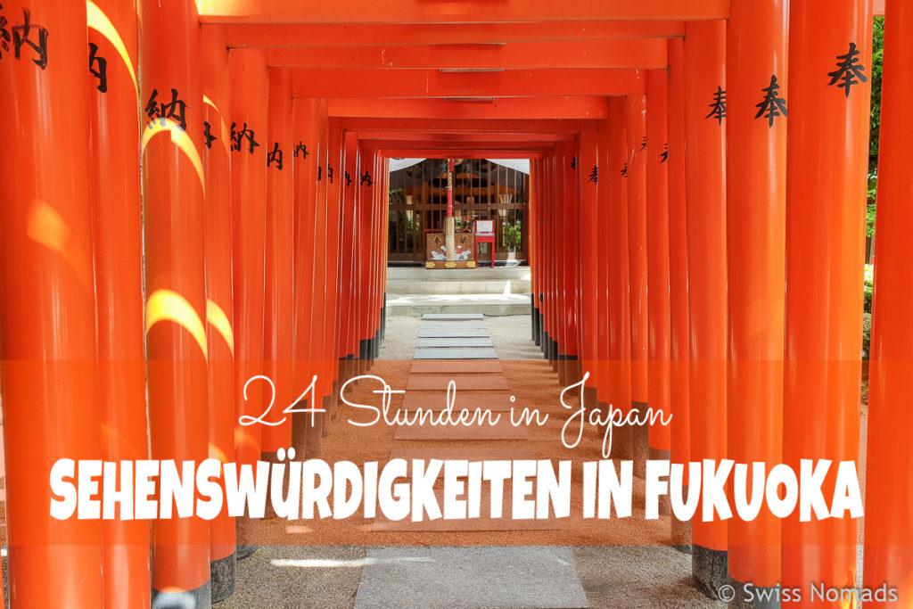 Sehenswürdigkeiten in Fukuoka Japan