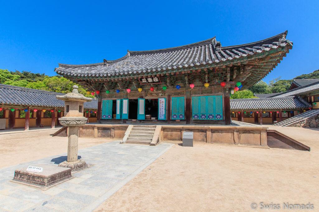 Einer der Innenhöfe des Bulguksa Tempels