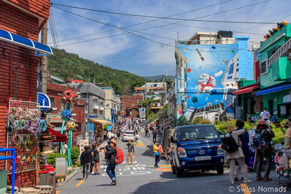 Sehenswürdigkeiten in Busan Gamcheon Village