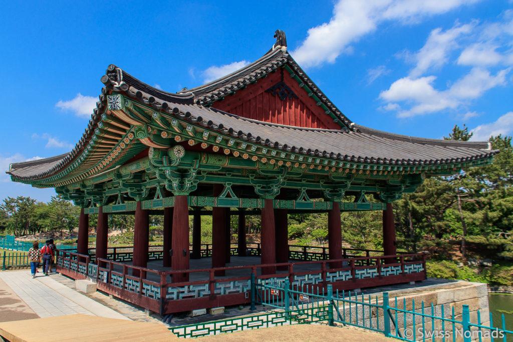 Pavillon des Donggung Palace in Gyeongju