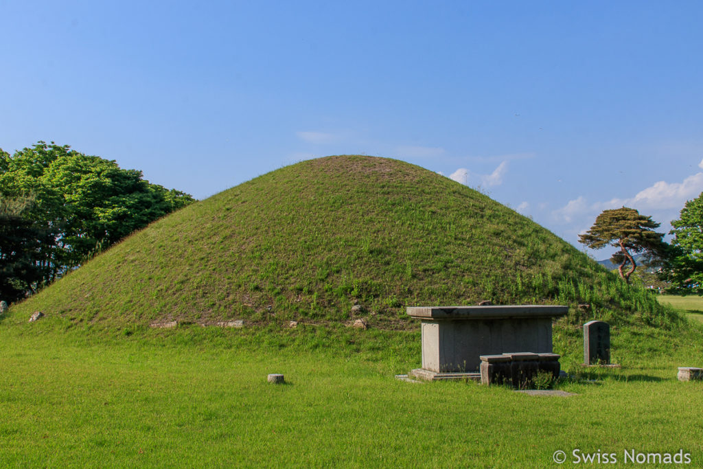 Der Naemul Grabhügel in Gyeongju