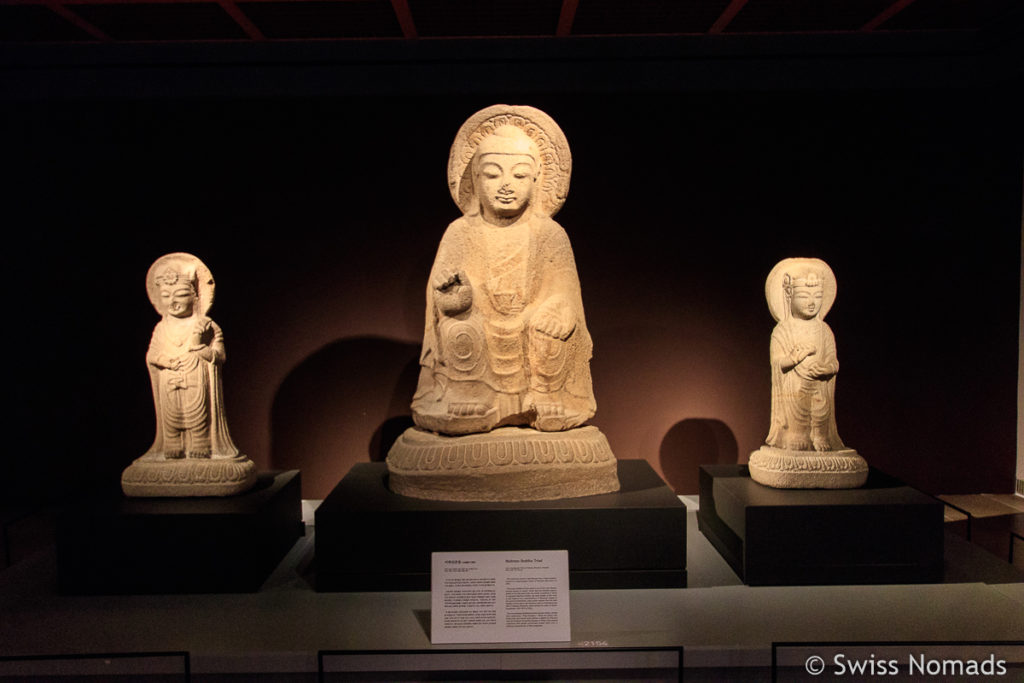 Buddha Statuen im Gyeongju National Museum