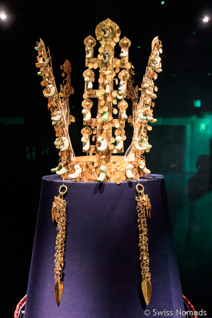 Gold Krone im Gyeongju National Museum