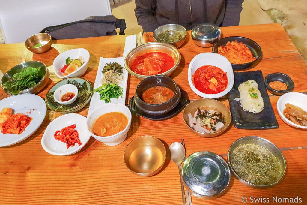 Koreanische Spezialität in Gyeongju