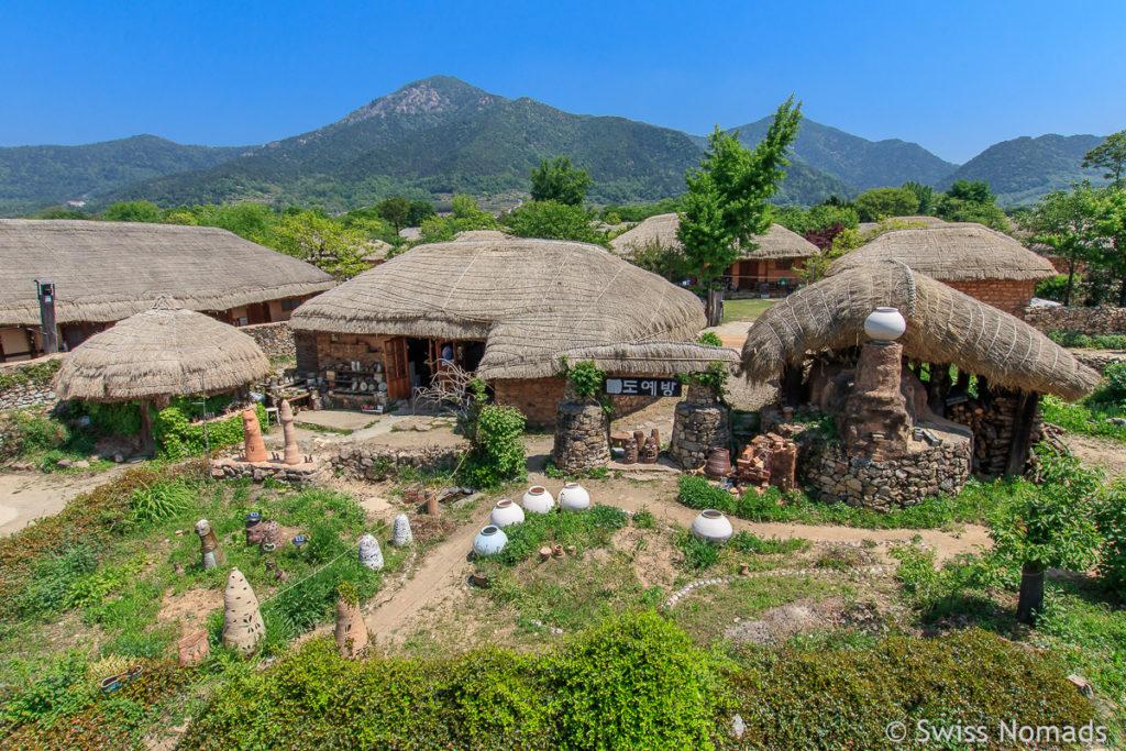 Das Naganeupsong Folk Village ist eine Top Sehenswürdigkeit in Südkorea