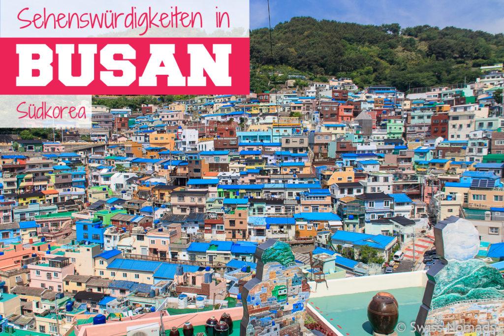 Sehenswuerdigkeiten in Busan in Südkorea