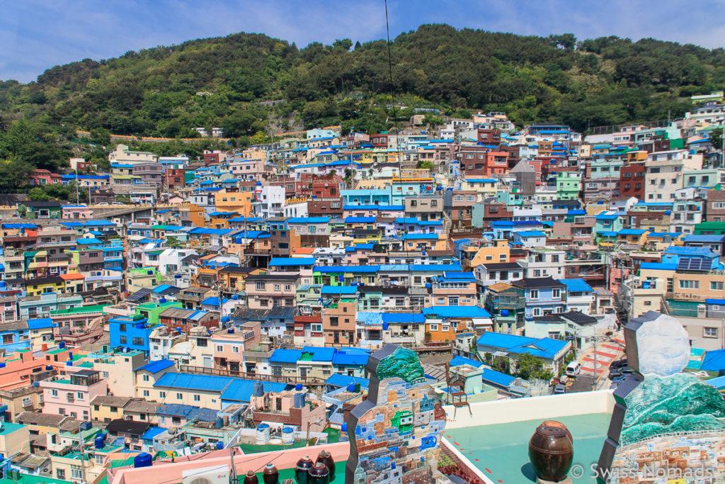 Einige der Sehenswürdigkeiten von Südkorea befinden sich in Busan