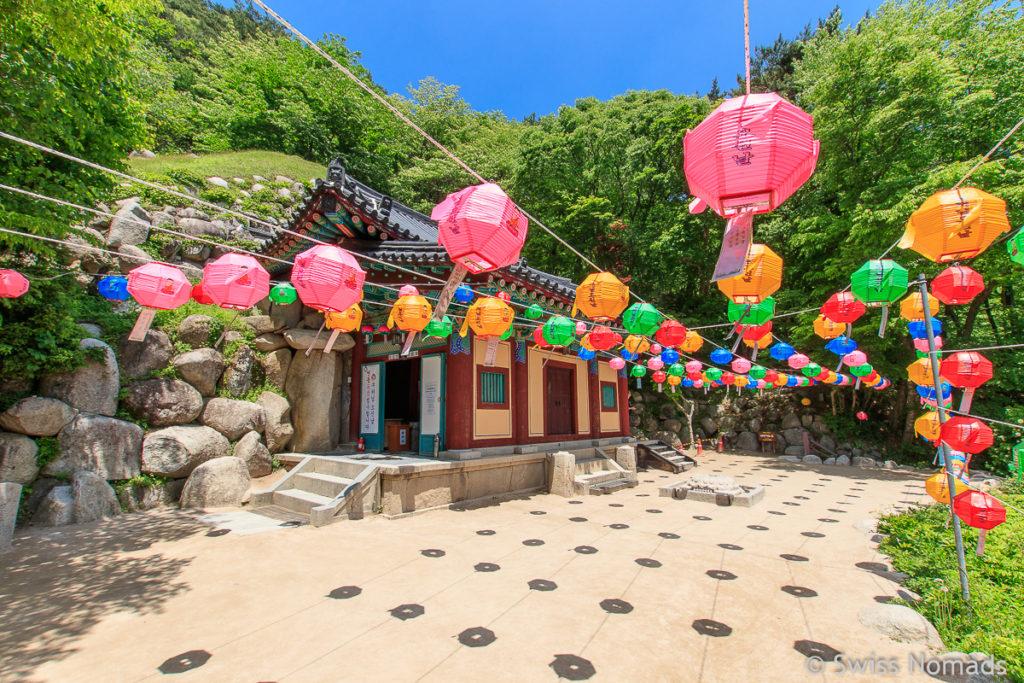 Der Seokguram Höhlen Tempel