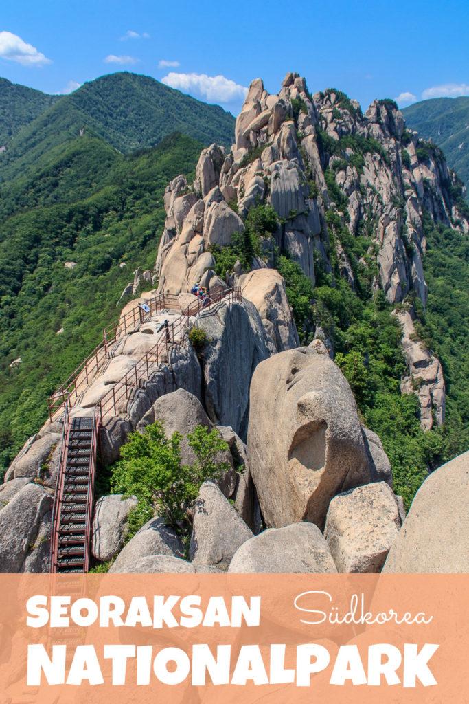 Der Seoraksan Nationalpark in Südkorea