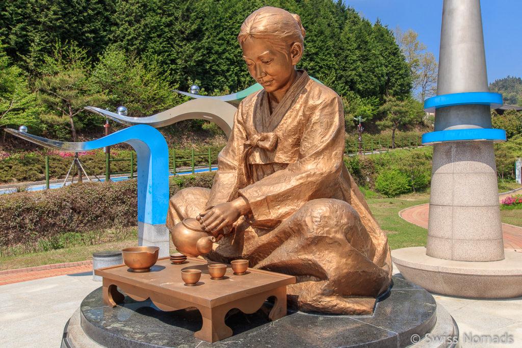 Das Tea Museum of Korea in Boseong ist eines der interessantesten Museen in Südkorea