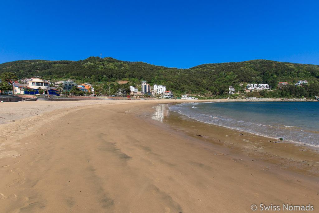 Der Wahyeon Beach ist einer der schönsten Strände in Südkorea
