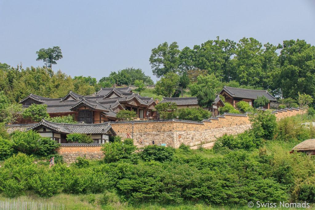 Das Yangdong Folk Village bei Gyeongju