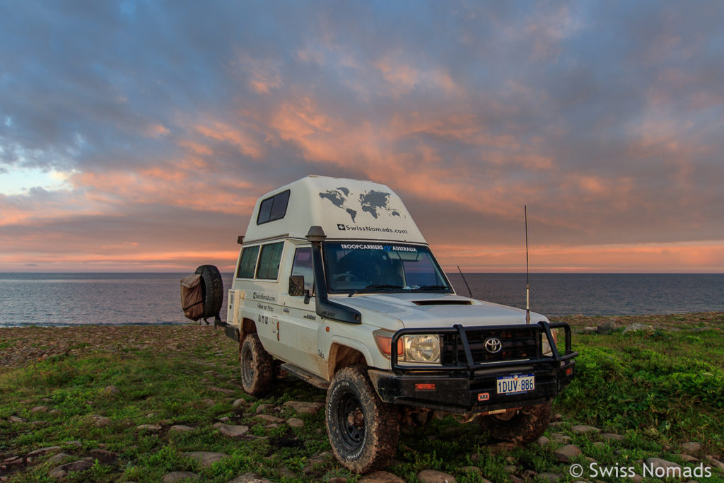 Camping auf Russky Island in Wladiwostok