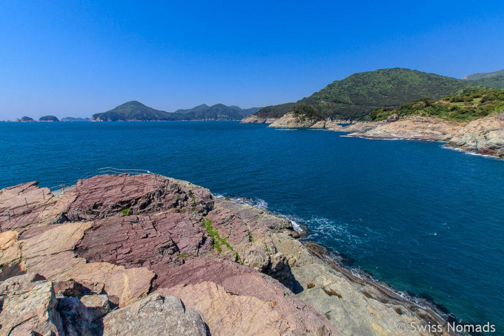 Insel Geoje Küste in Südkorea
