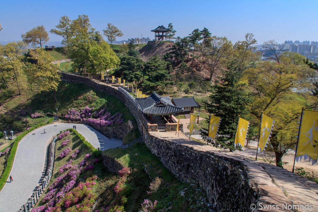 Gongju Gongsangseong Fort in Südkorea