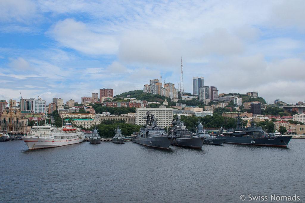 Hafen Wladiwostok Russland