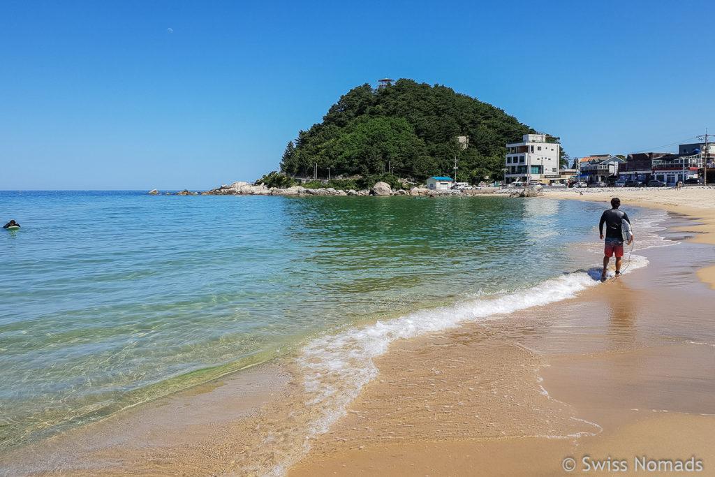 Ingu Beach Südkorea Roadtrip