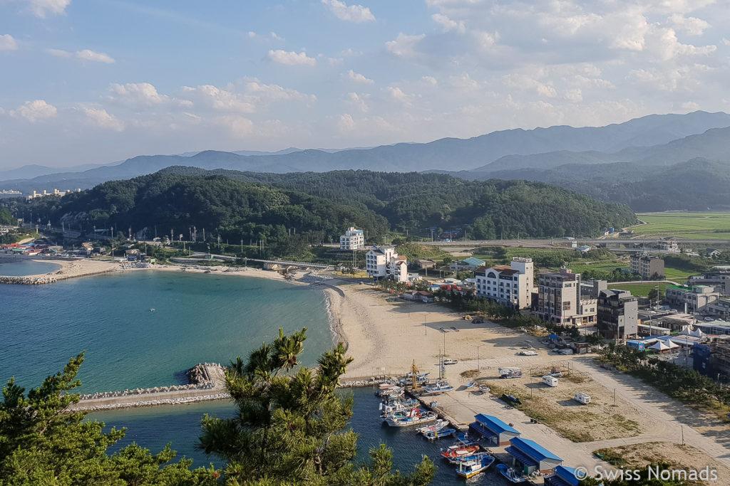 Jukdo Beach in Südkorea