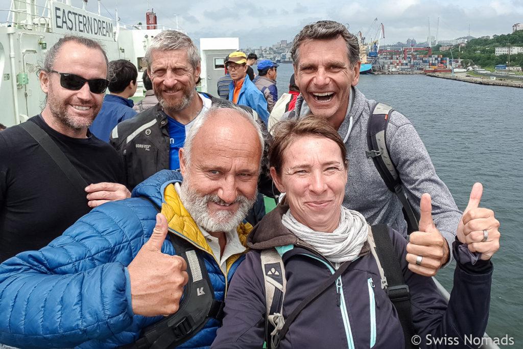 Overlander DBS Ferry von Südkorea nach Russland