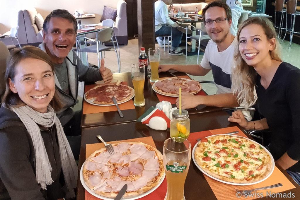 Pizza Essen Wladiwostok Russland