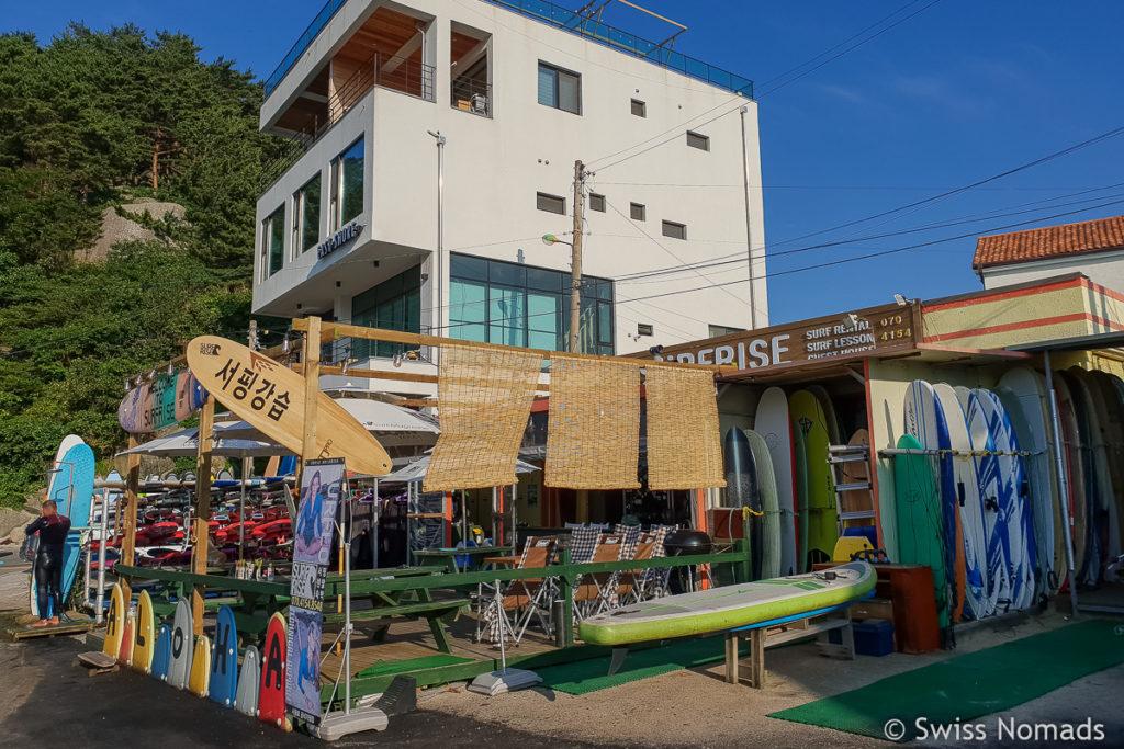 Surfschule Ingu Beach Südkorea