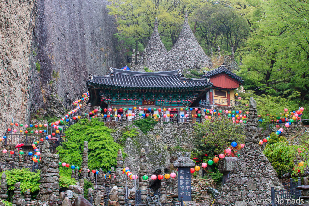 Tapsa Tempel Maisan in Südkorea